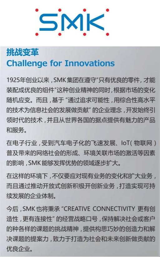 SMK公司介紹