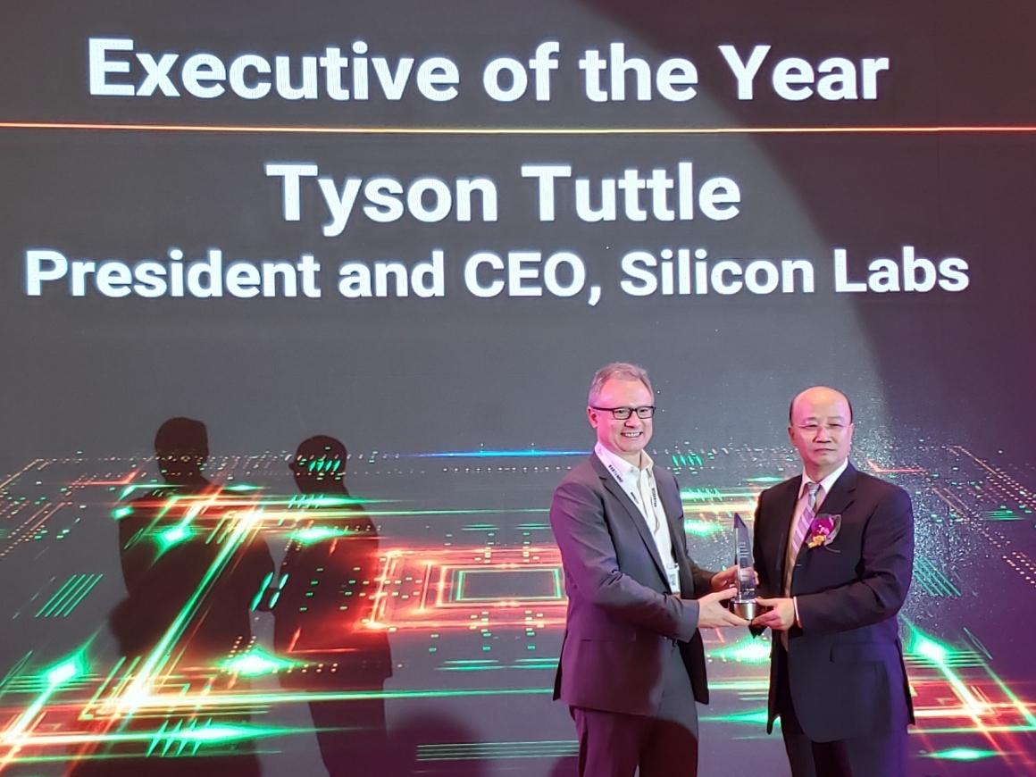 Tyson Tuttle Receives CEO Summit Award