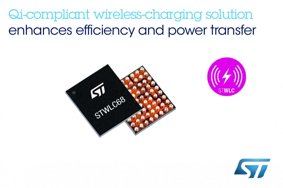 ST新聞稿2020年2月27日——意法半導體推出高集成度的無線充電IC,可大幅提高輸電充電能效,降低物料清單成本 clean r1