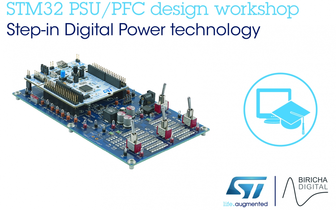ST新闻图片 9月14日——意法半导体与Biricha数字电源合作,在STM32 MCU中部署数字电源