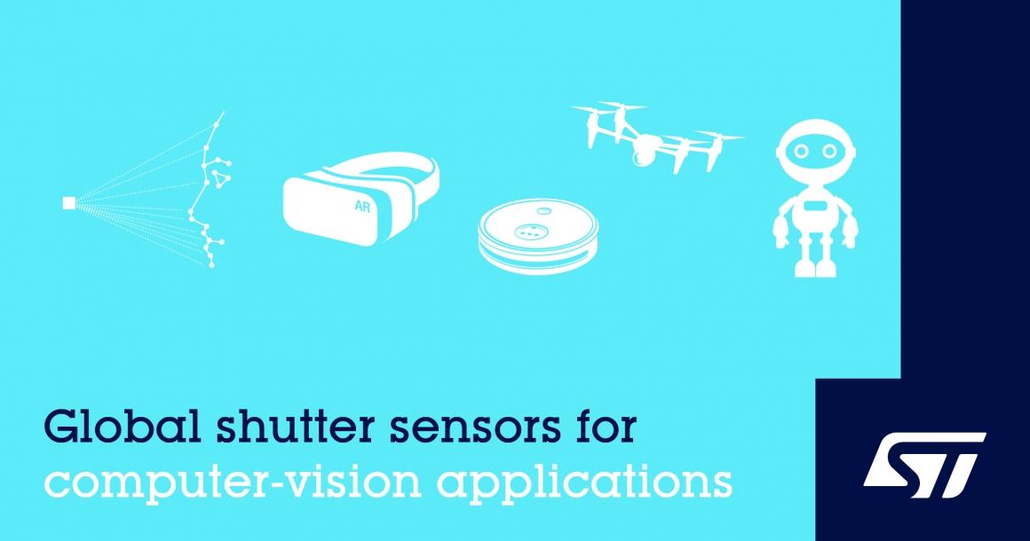 ST新聞稿2020年3月30日——意法半導體推出高性能全域快門圖像感測器,推動下一代電腦視覺應用發展