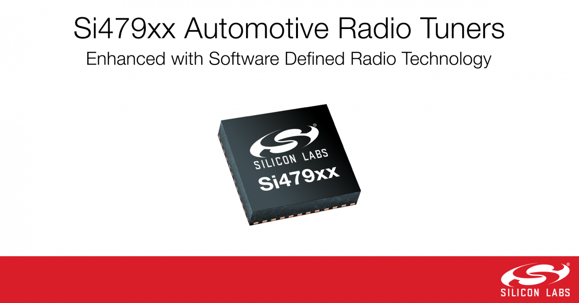 Si479xx Hybrid SDR Audio Tuners with text