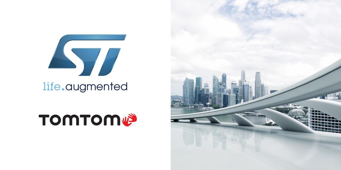 ST新闻稿 9月6日——TomTom和意法半导体合作推出创新级地理定位工具和服务